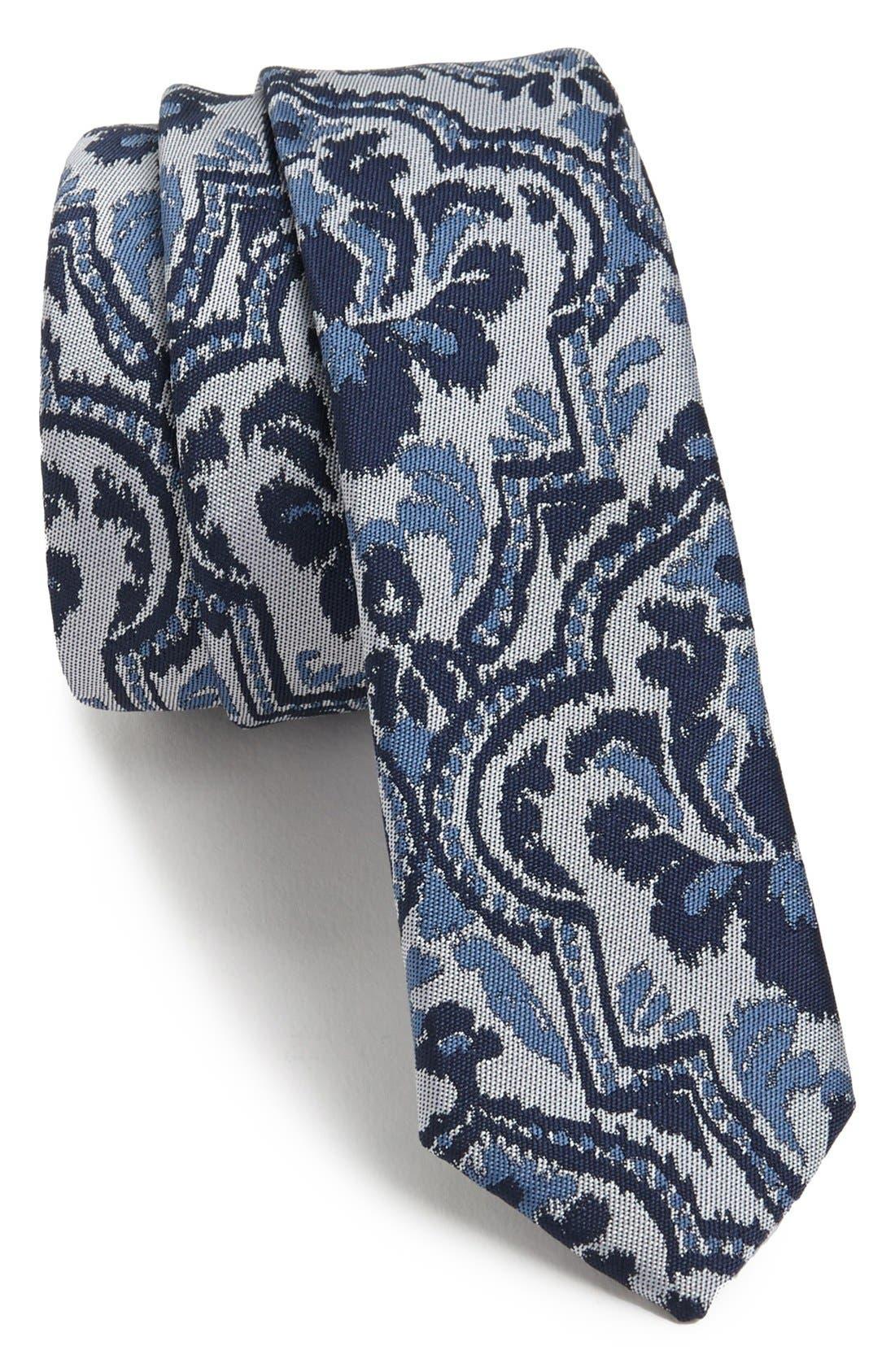 Alternate Image 1 Selected - Topman Paisley Tie