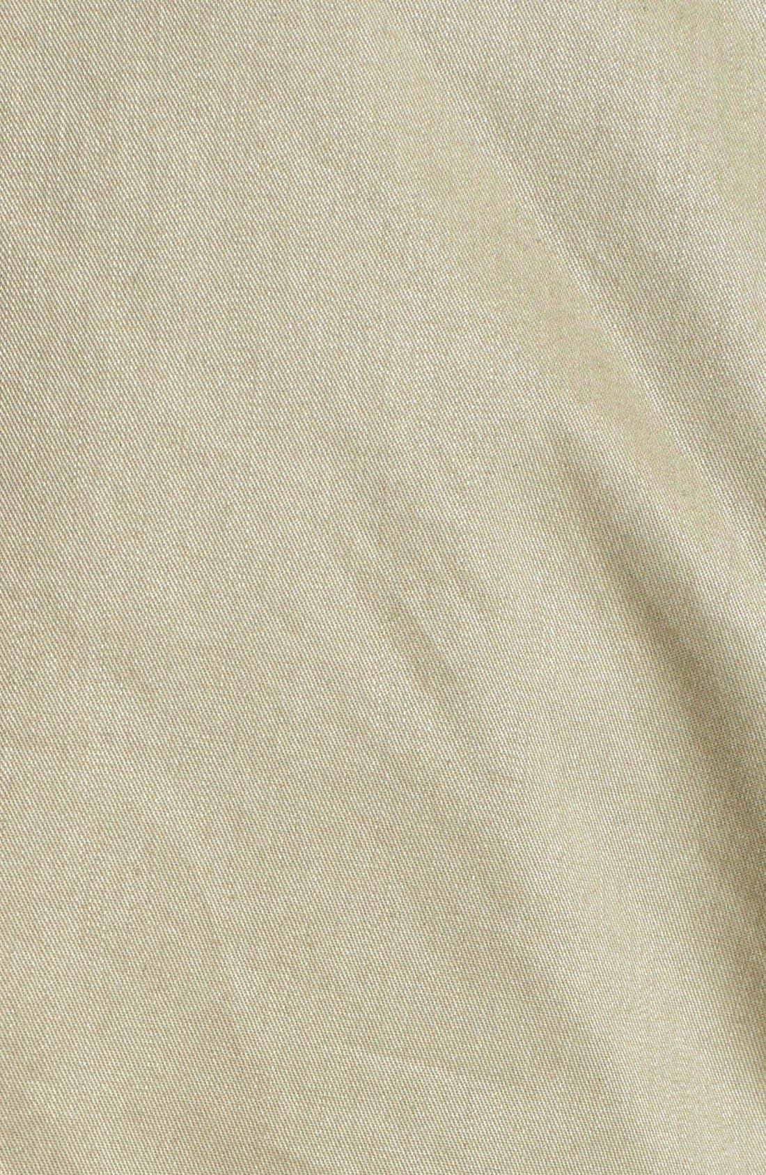Alternate Image 3  - Sam Edelman Cotton Roll-Sleeve Anorak