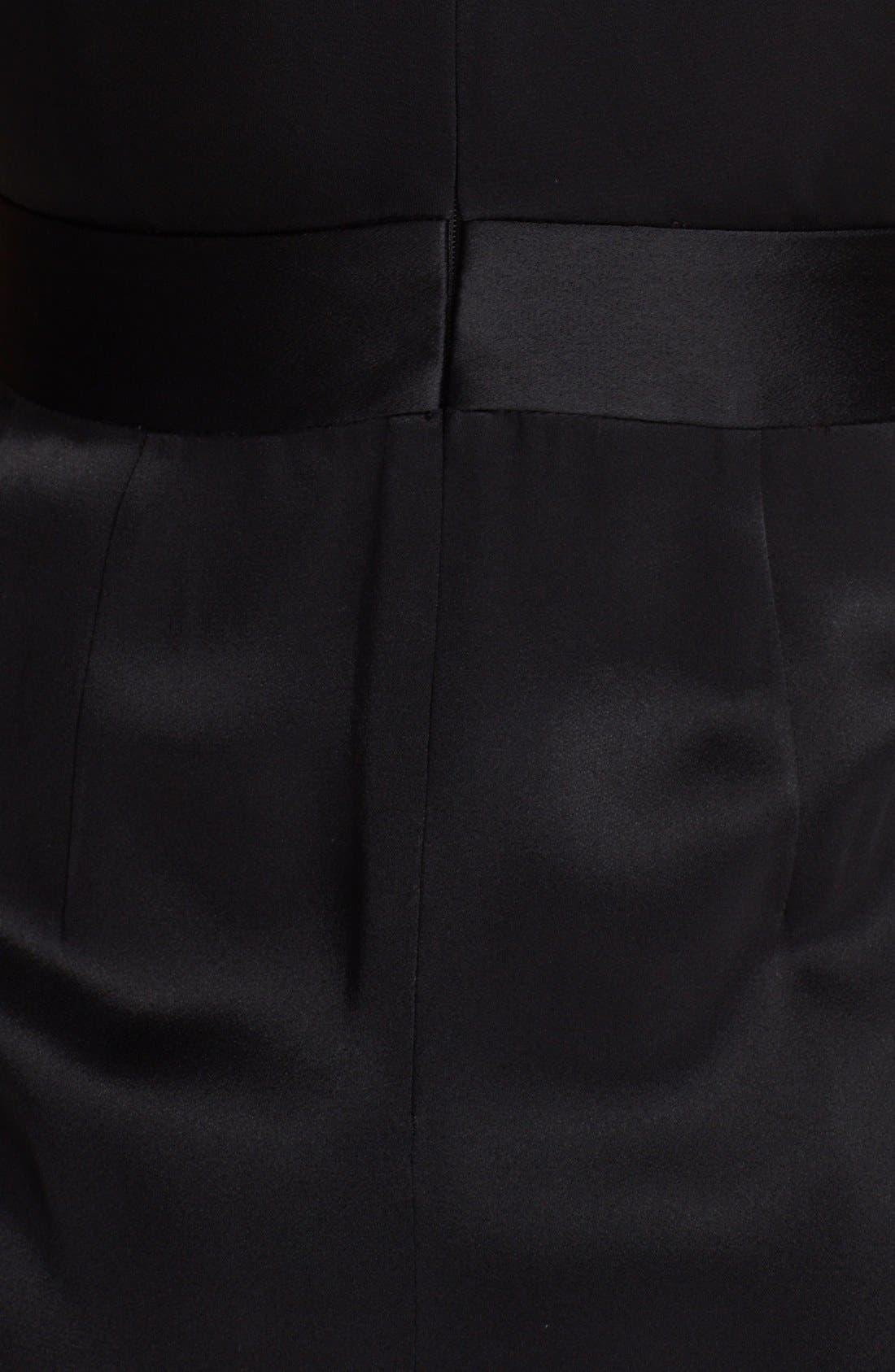 Alternate Image 3  - St. John Collection Draped Faux Wrap Crepe Dress