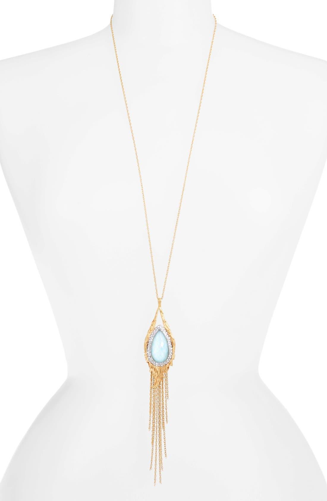 Main Image - Alexis Bittar 'Elements - Maldivian' Long Tassel Pendant Necklace