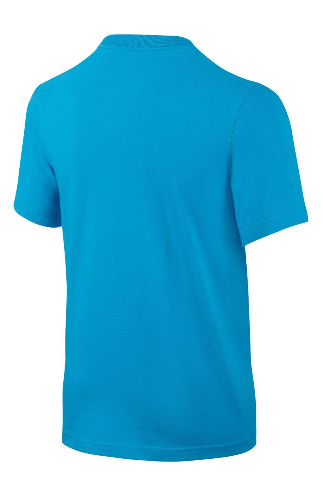 Alternate Image 2  - Nike 'Nobody Trains TD' Short Sleeve T-Shirt (Big Boys)