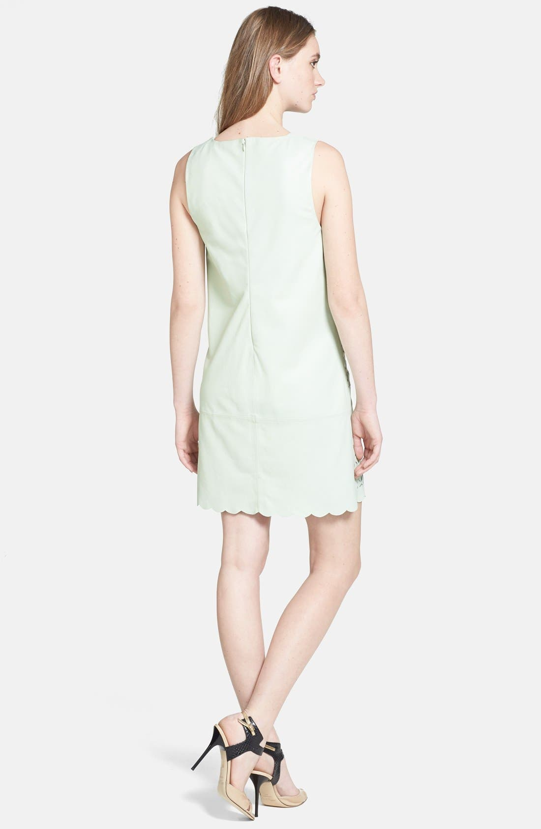 Alternate Image 2  - Rebecca Minkoff 'Samba' Cutout Leather Shift Dress