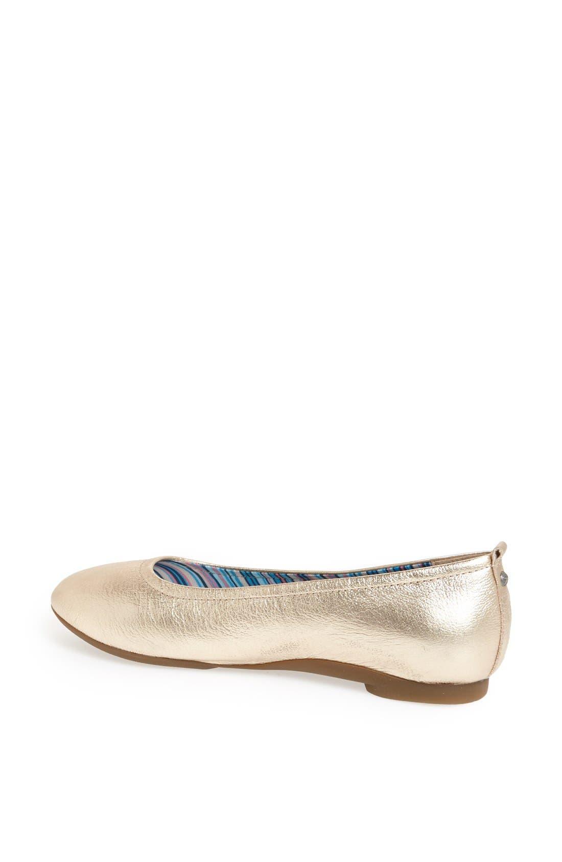 Alternate Image 2  - Aetrex 'Erica' Ballet Flat