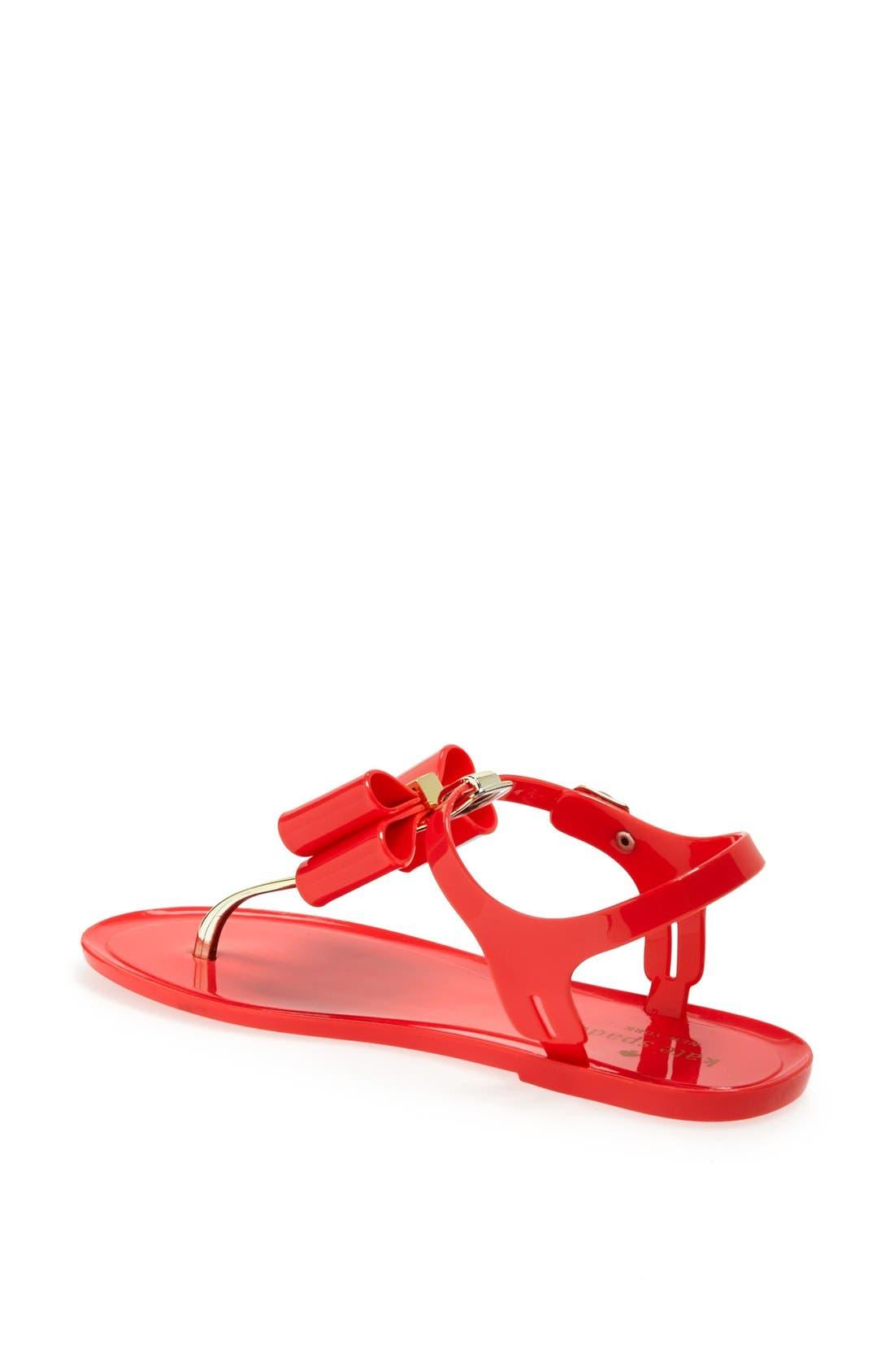 Alternate Image 2  - kate spade new york 'filo' jelly sandal