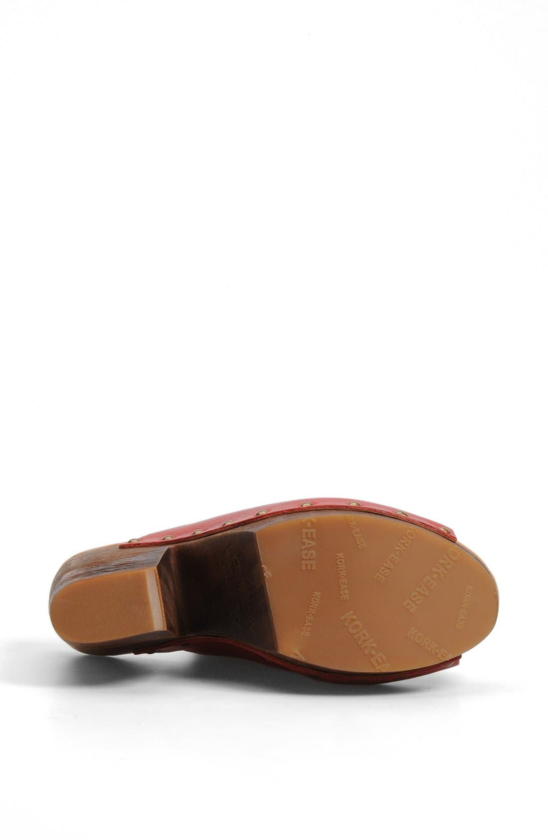 Alternate Image 4  - Kork-Ease® 'Deanna' Open Toe Mule (Women)