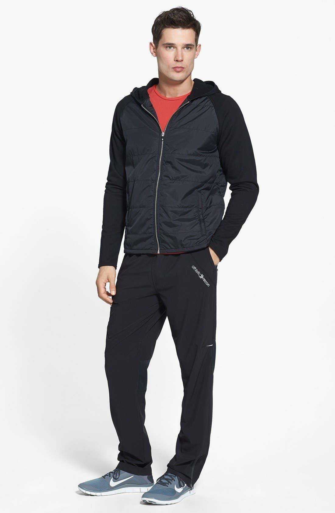 Alternate Image 4  - Athletic Recon 'Jayhawk' Puff Hooded Jacket