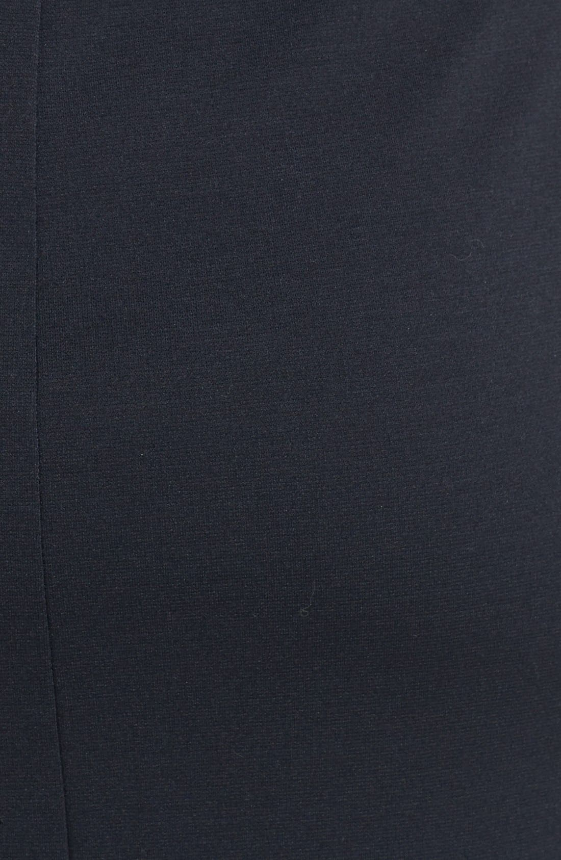 Alternate Image 3  - Trouvé Ponte Knit Midi Dress