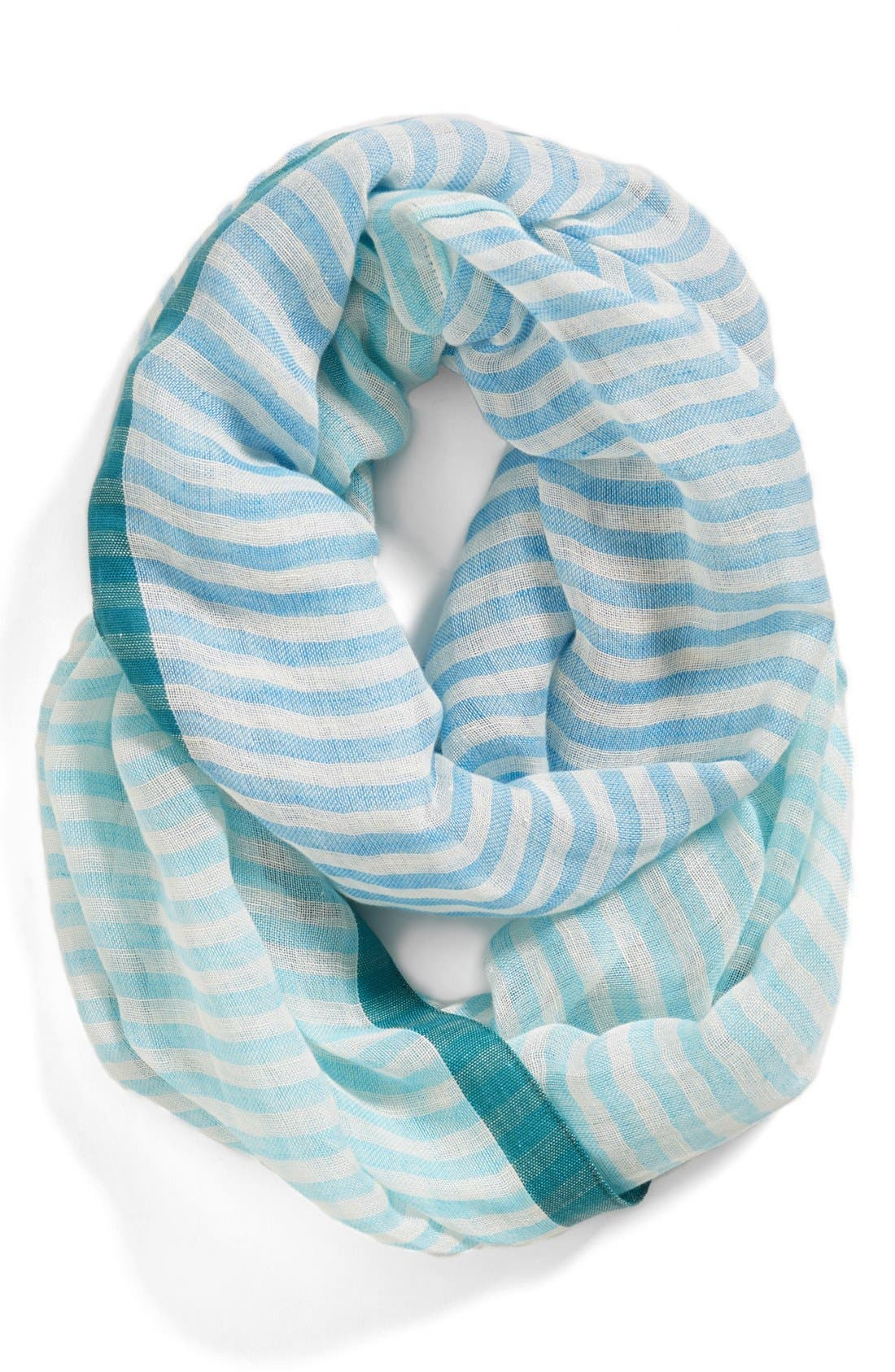 Alternate Image 1 Selected - Halogen® 'Color Stripe' Infinity Scarf