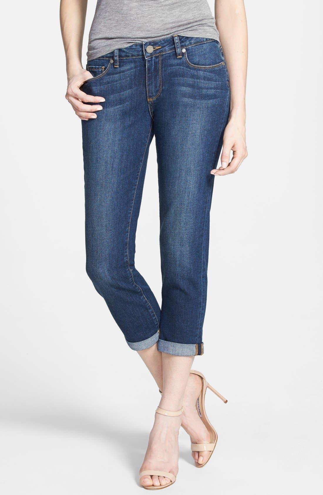Main Image - Paige Denim 'Jimmy Jimmy' Crop Skinny Jeans (Rebecca)