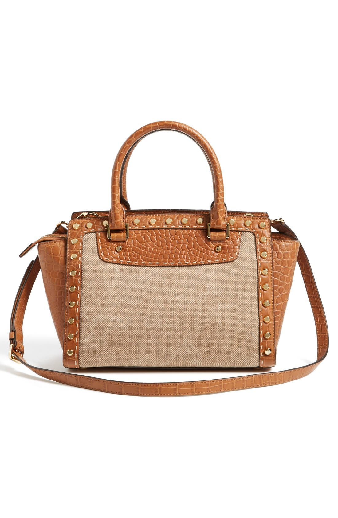 Alternate Image 4  - MICHAEL Michael Kors 'Medium Selma' Studded Satchel