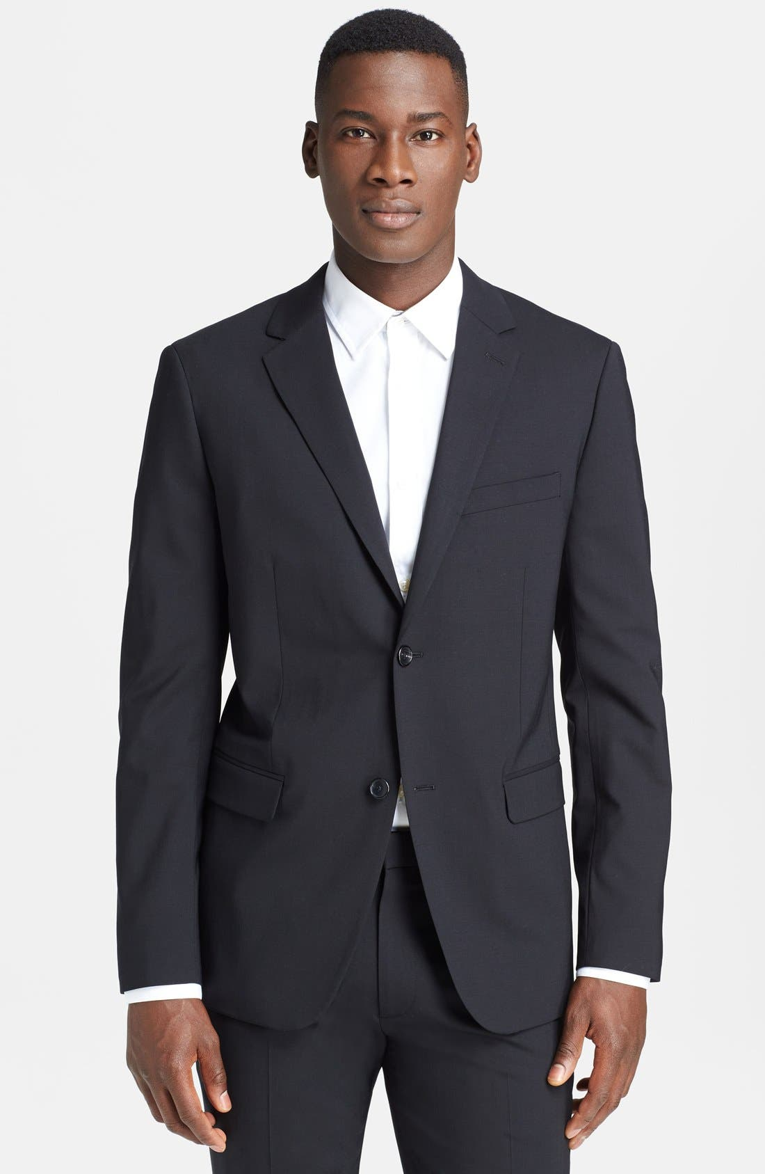 Alternate Image 1 Selected - Theory 'Wellar New Tailor' Trim Fit Wool Blend Sport Coat