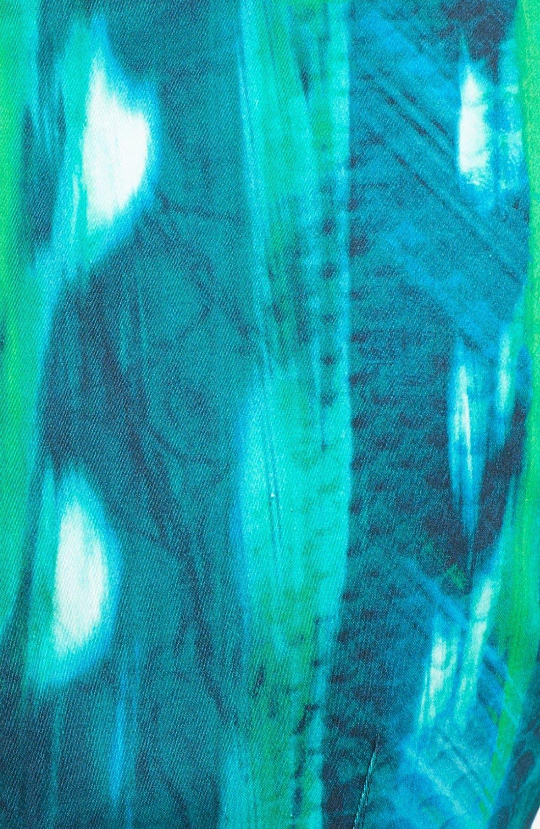 Alternate Image 3  - Elie Tahari 'David' Square Neck Sheath Dress