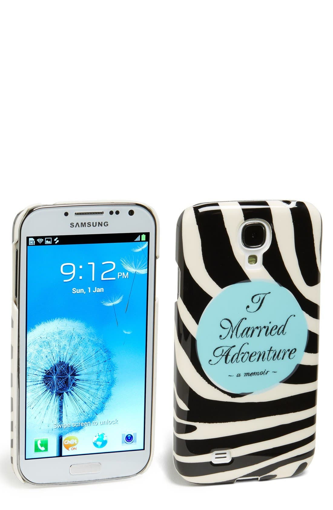 Alternate Image 1 Selected - kate spade new york 'i married adventure' Samsung Galaxy S®4 Case