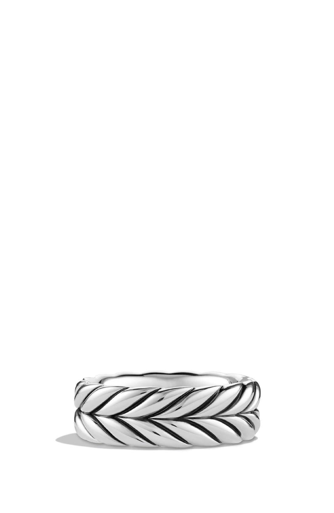 Main Image - David Yurman 'Chevron' Band Ring