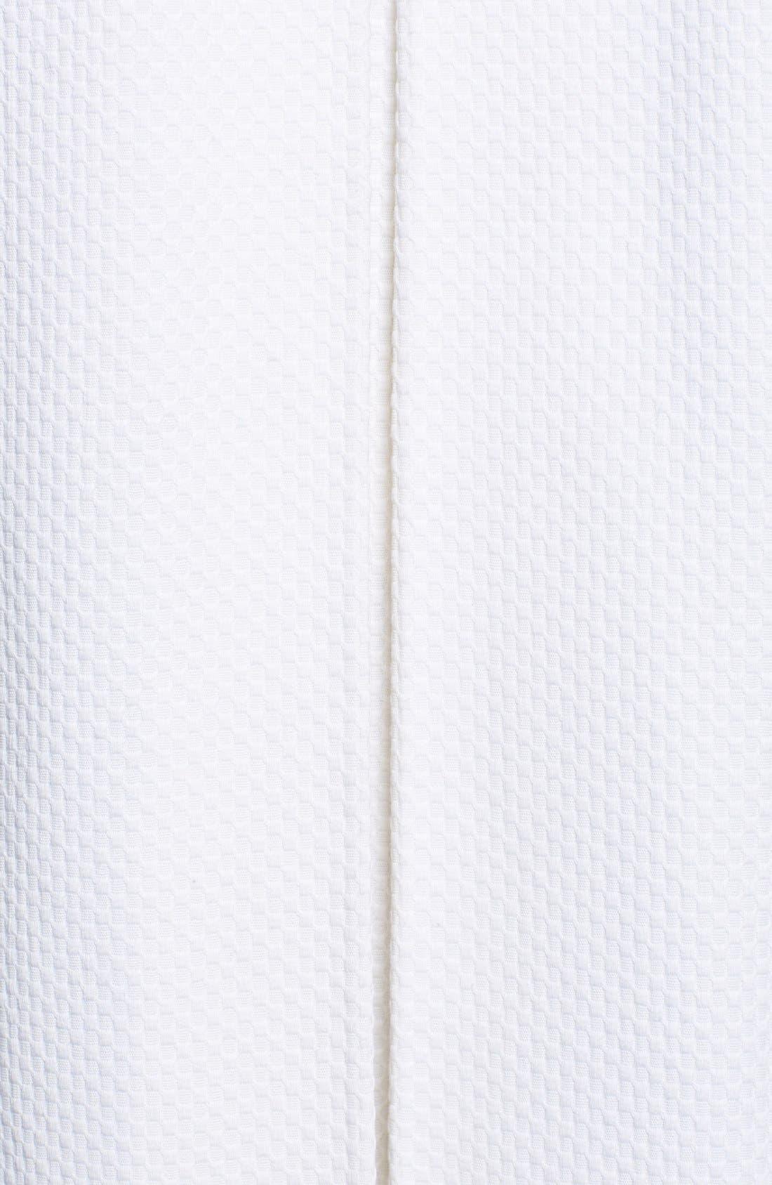 Alternate Image 3  - T Tahari 'Caladium' Double Breasted Piqué Topper