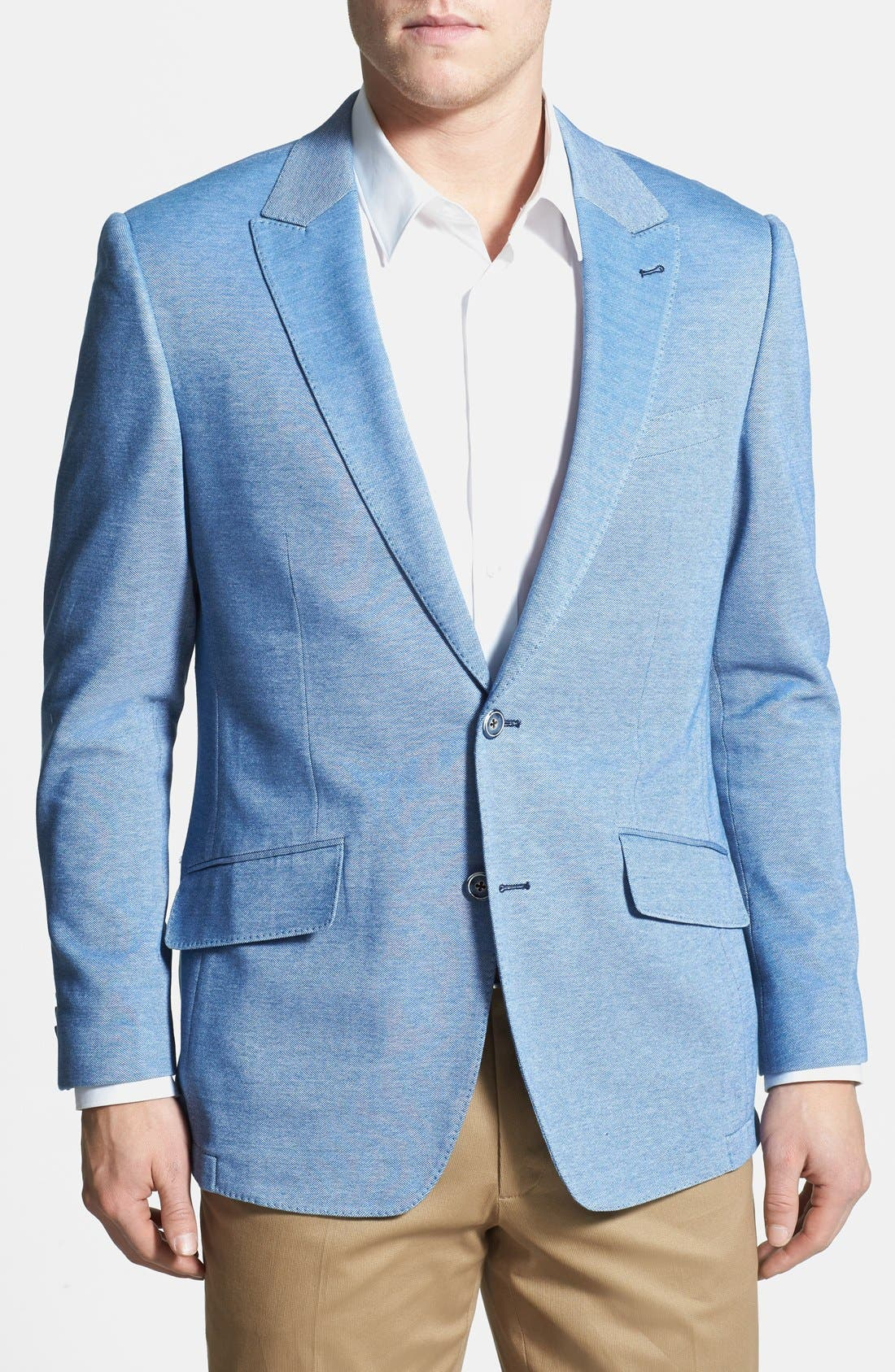Alternate Image 1 Selected - Peter Millar Classic Fit Cotton Sportcoat