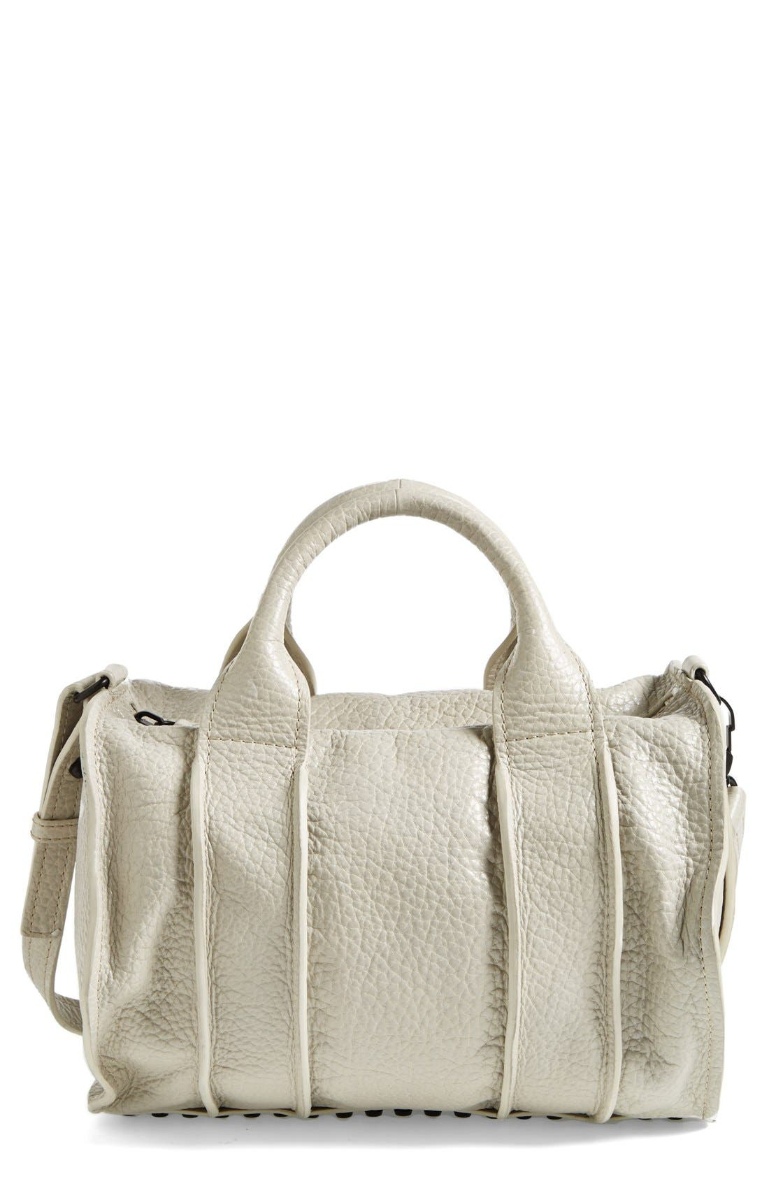 Alternate Image 1 Selected - Alexander Wang 'Rocco - Inside Out' Leather Satchel