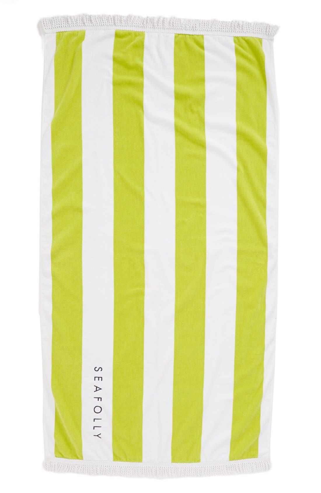 Alternate Image 1 Selected - Seafolly 'Splash' Velour & Terry Towel