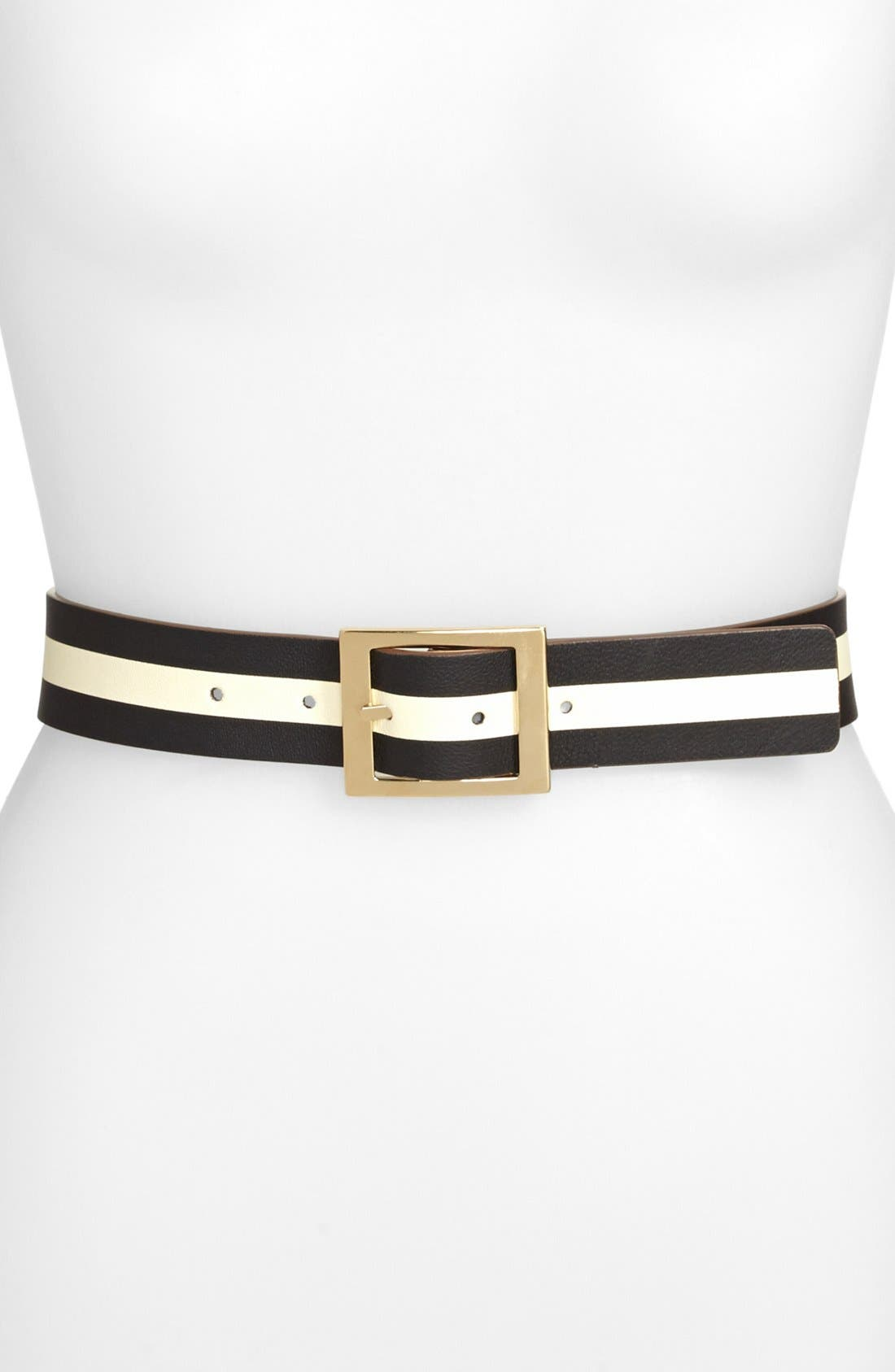 Alternate Image 1 Selected - kate spade new york reversible leather belt