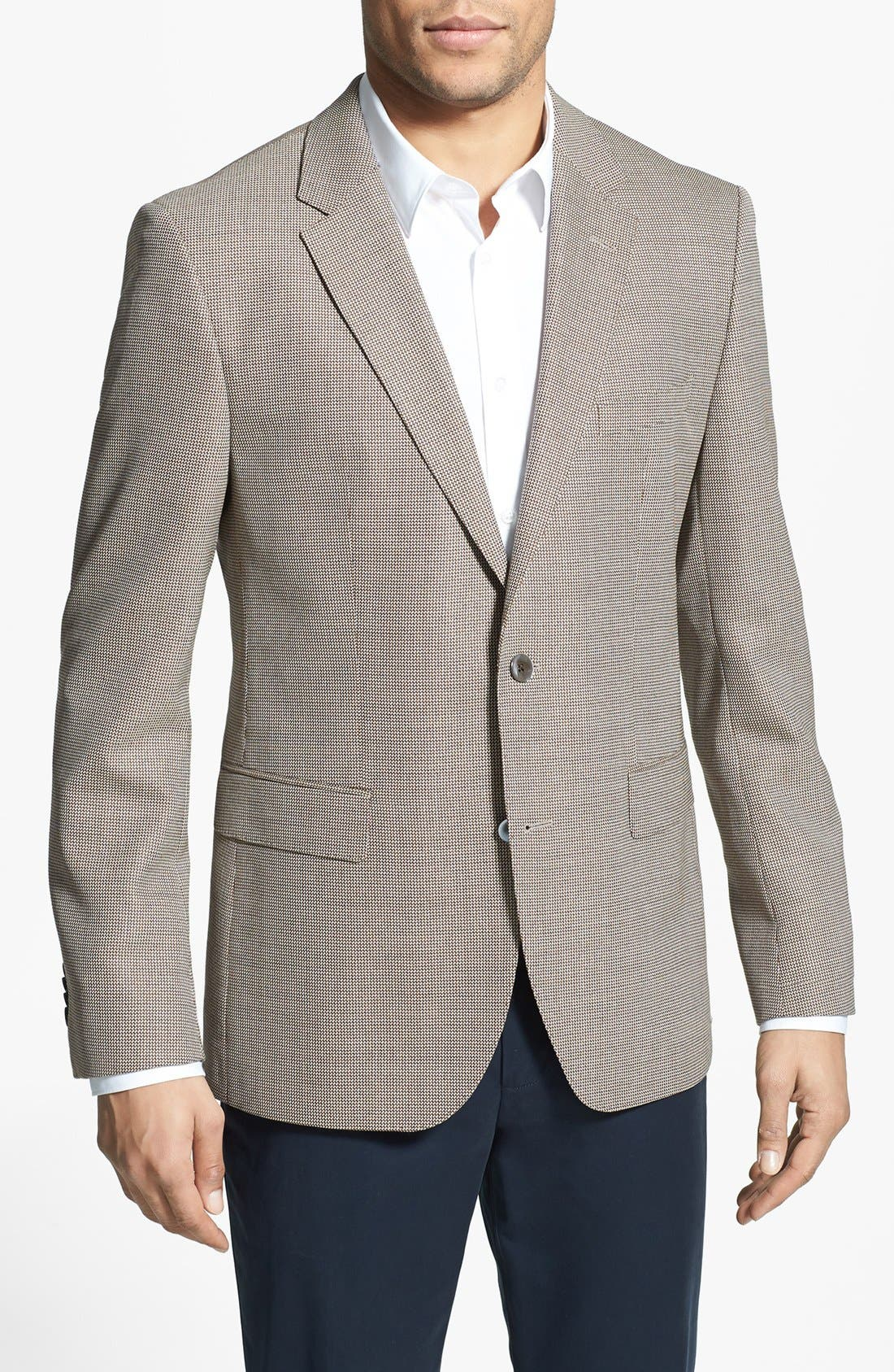 Main Image - BOSS HUGO BOSS 'Jarrett' Trim Fit Wool Sportcoat