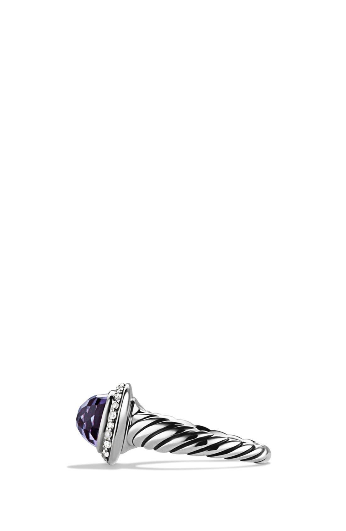 Alternate Image 3  - David Yurman 'Noblesse' Ring with Diamonds