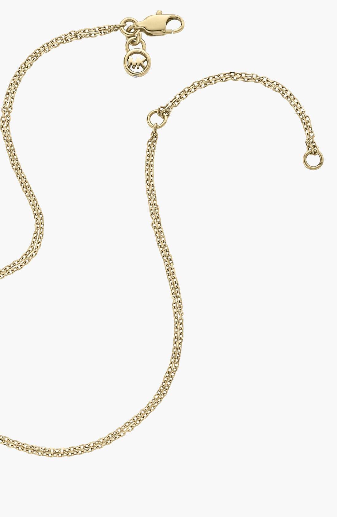Alternate Image 4  - Michael Kors 'Statement Brilliance' 3-Ring Necklace