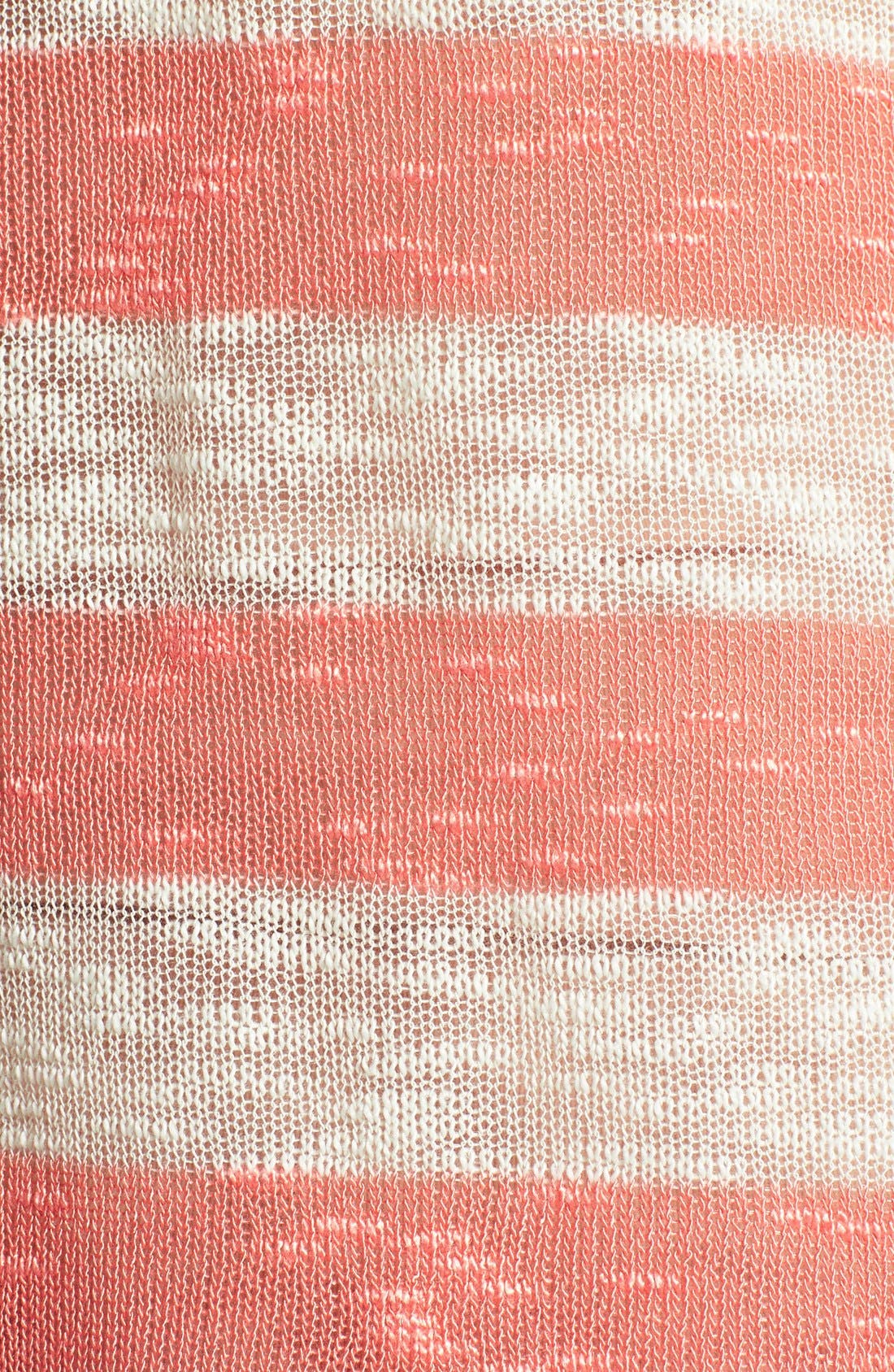 Alternate Image 3  - Bobeau Stripe Hoodie Pullover