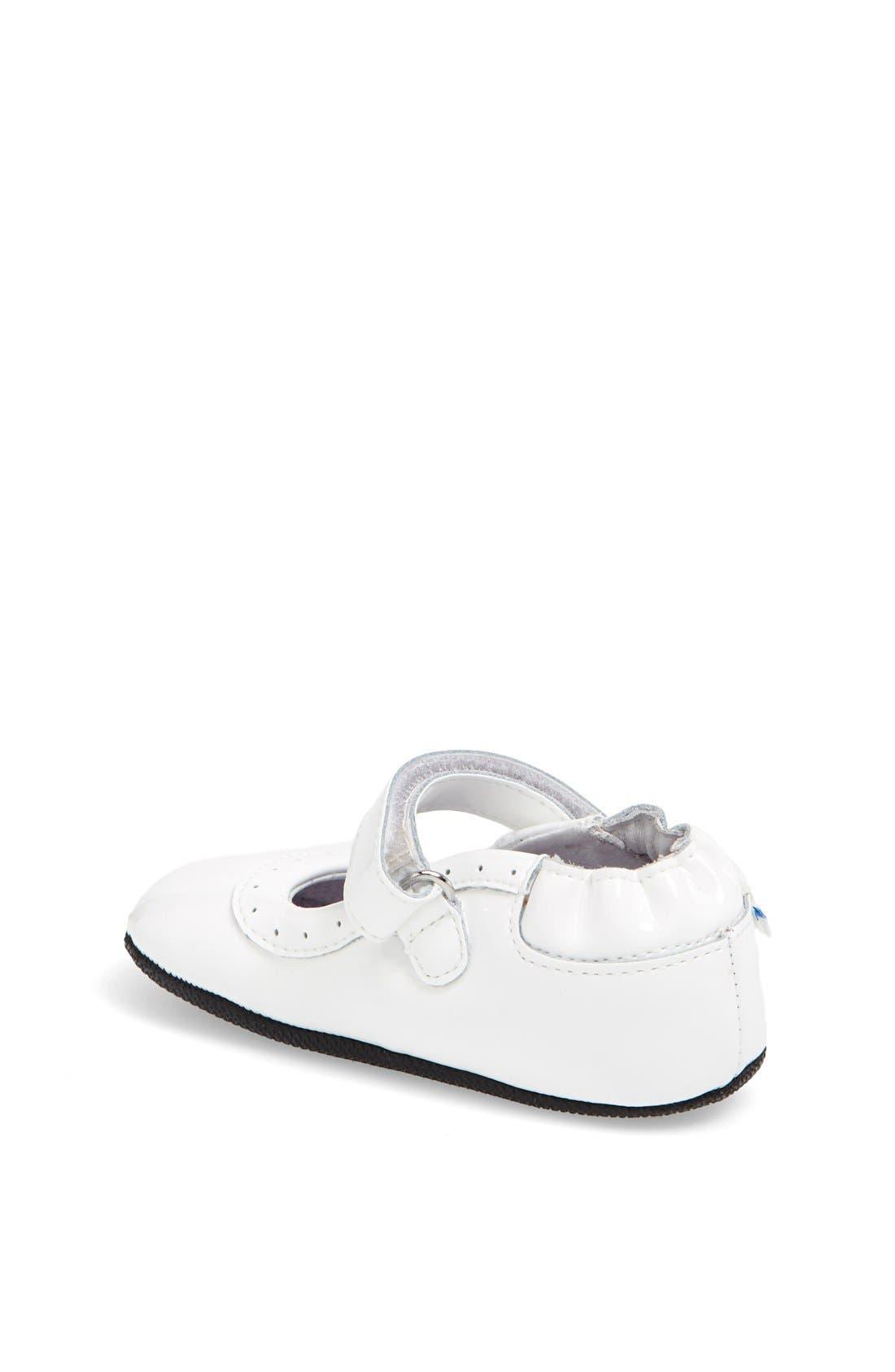 Alternate Image 2  - Robeez® 'Mini Shoez - Gracie' Mary Jane (Baby & Walker)