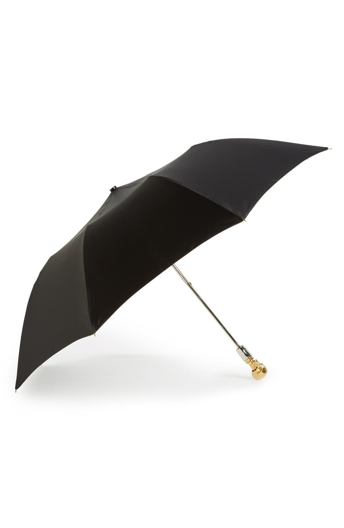 Alternate Image 1 Selected - Alexander McQueen Skull Umbrella