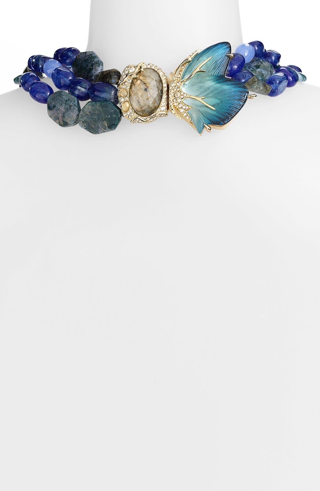 Alternate Image 2  - Alexis Bittar 'Lucite® - Jardin Mystère' Butterfly Torsade Necklace
