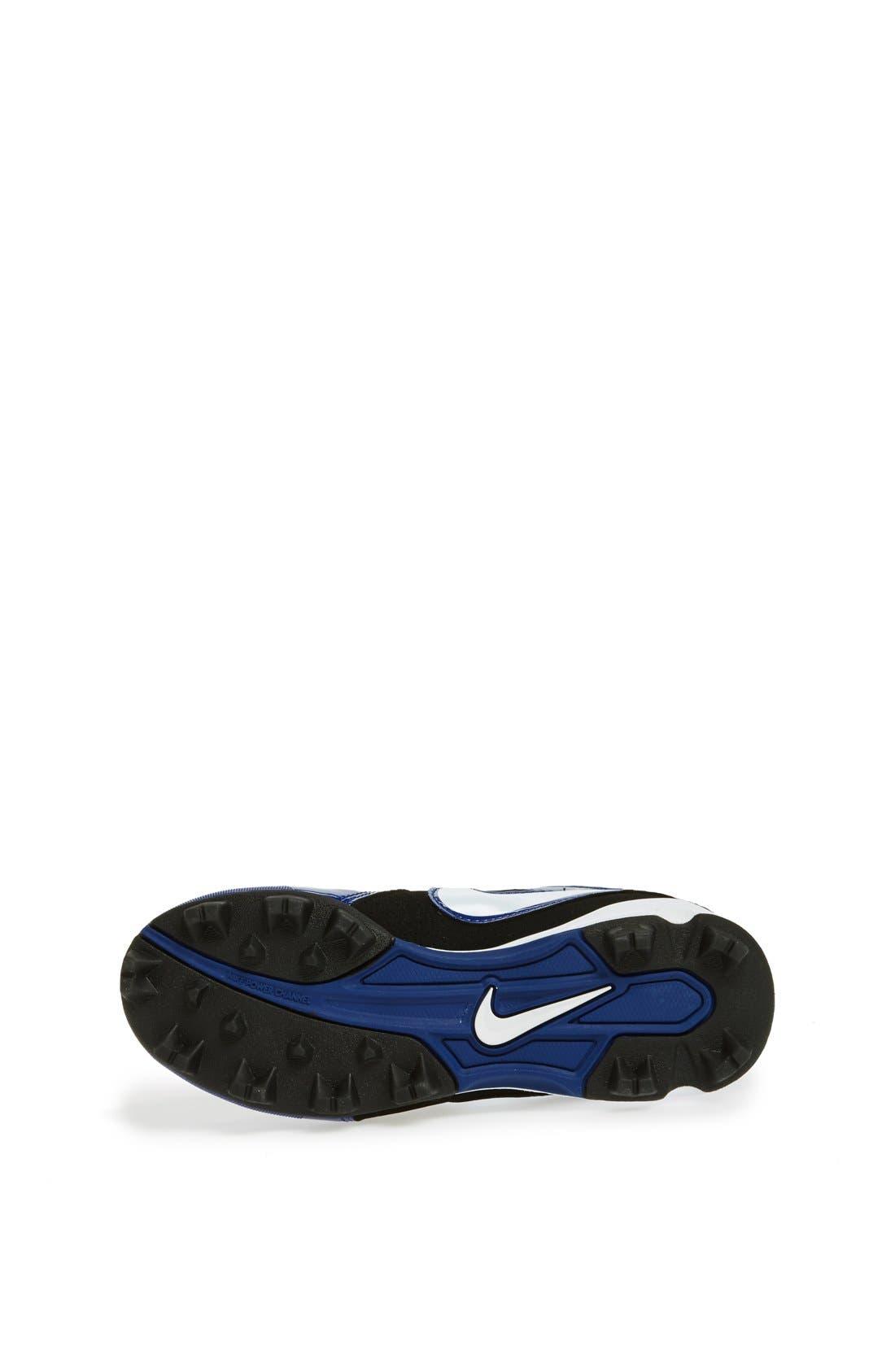 Alternate Image 4  - Nike 'MVP Keystone 3/4' Baseball Cleat (Toddler, Little Kid & Big Kid)