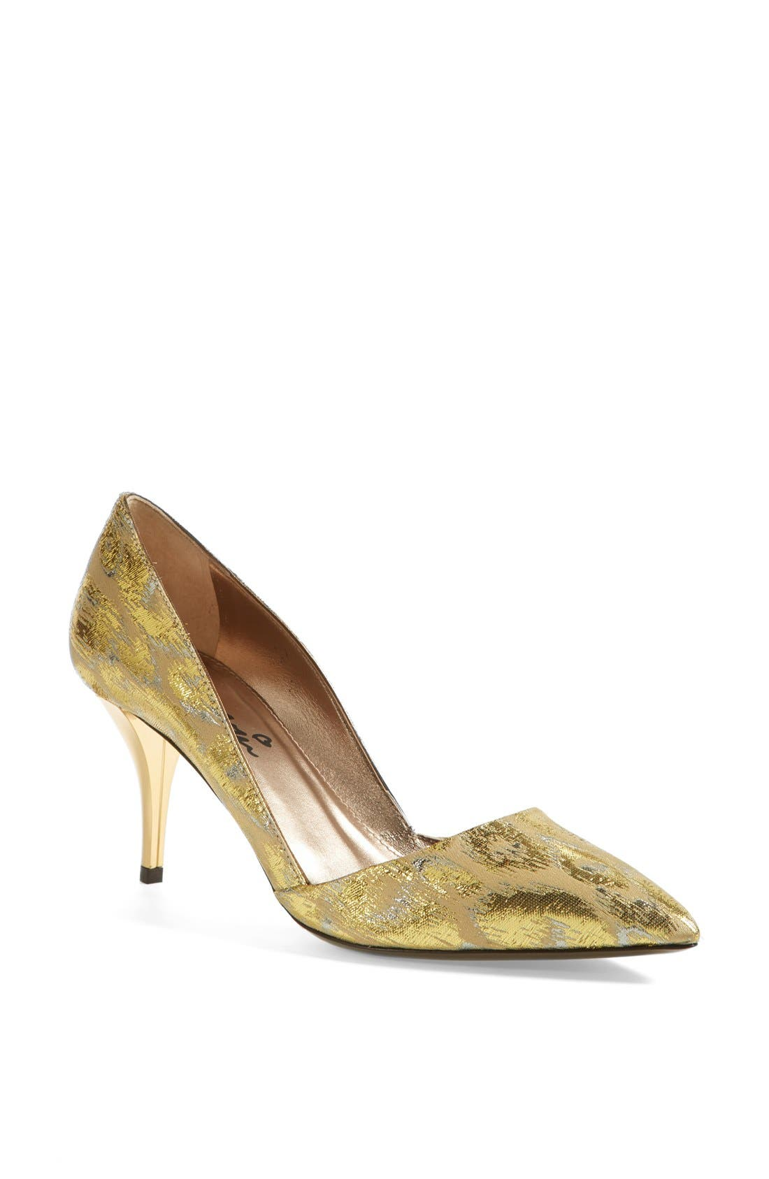 Alternate Image 1 Selected - Lanvin Metallic Jacquard Pump