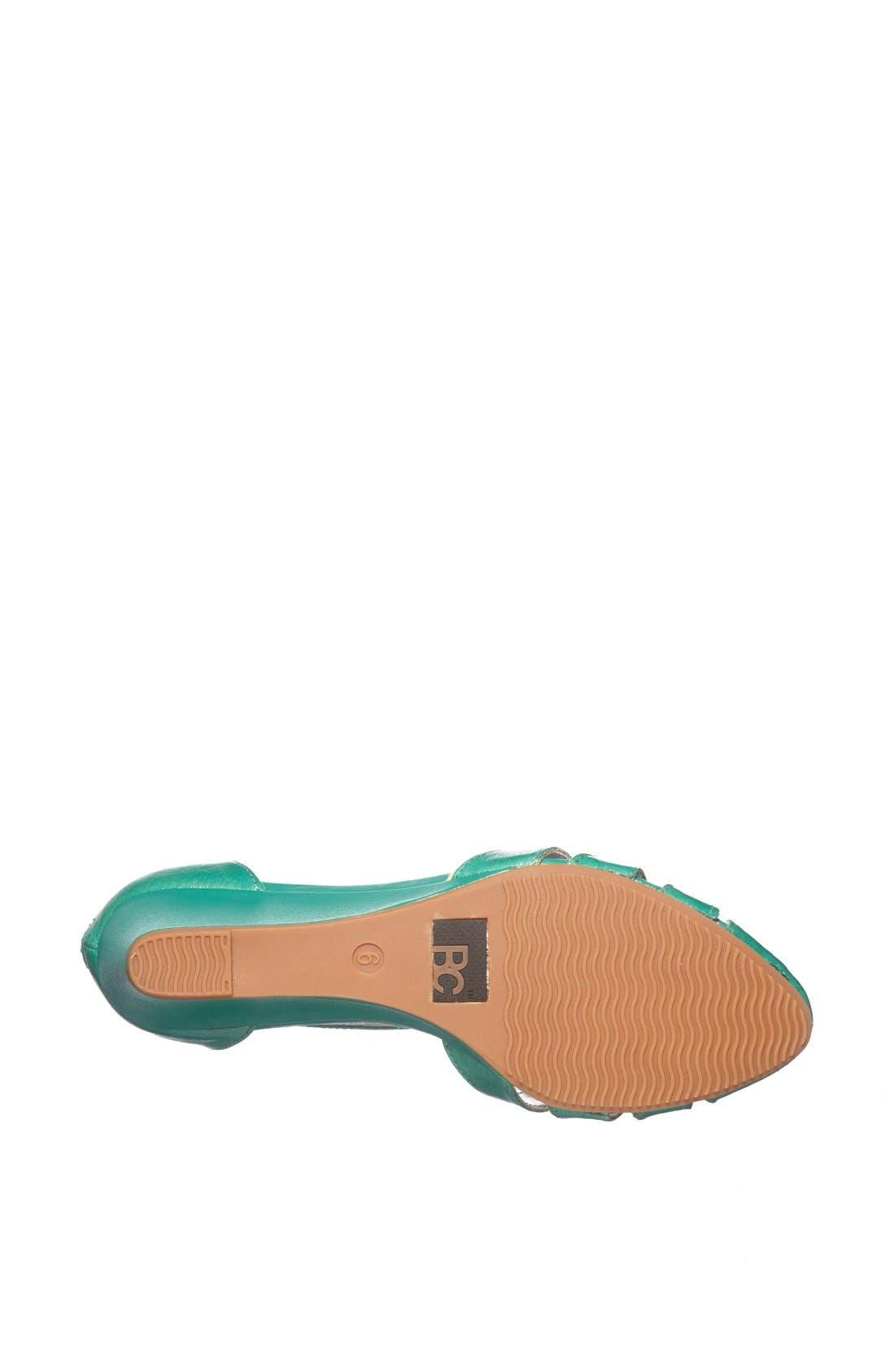Alternate Image 4  - BC Footwear 'Landing Gear' Pump