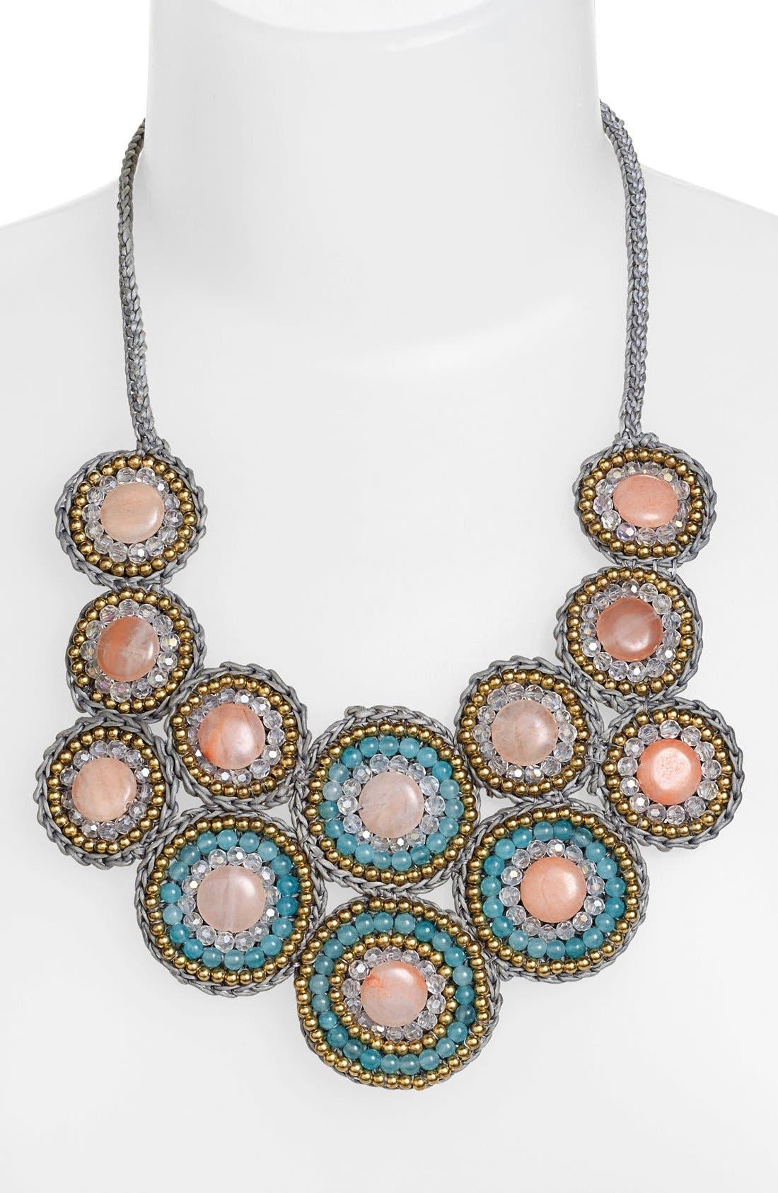 Alternate Image 2  - Panacea Stone Bib Necklace