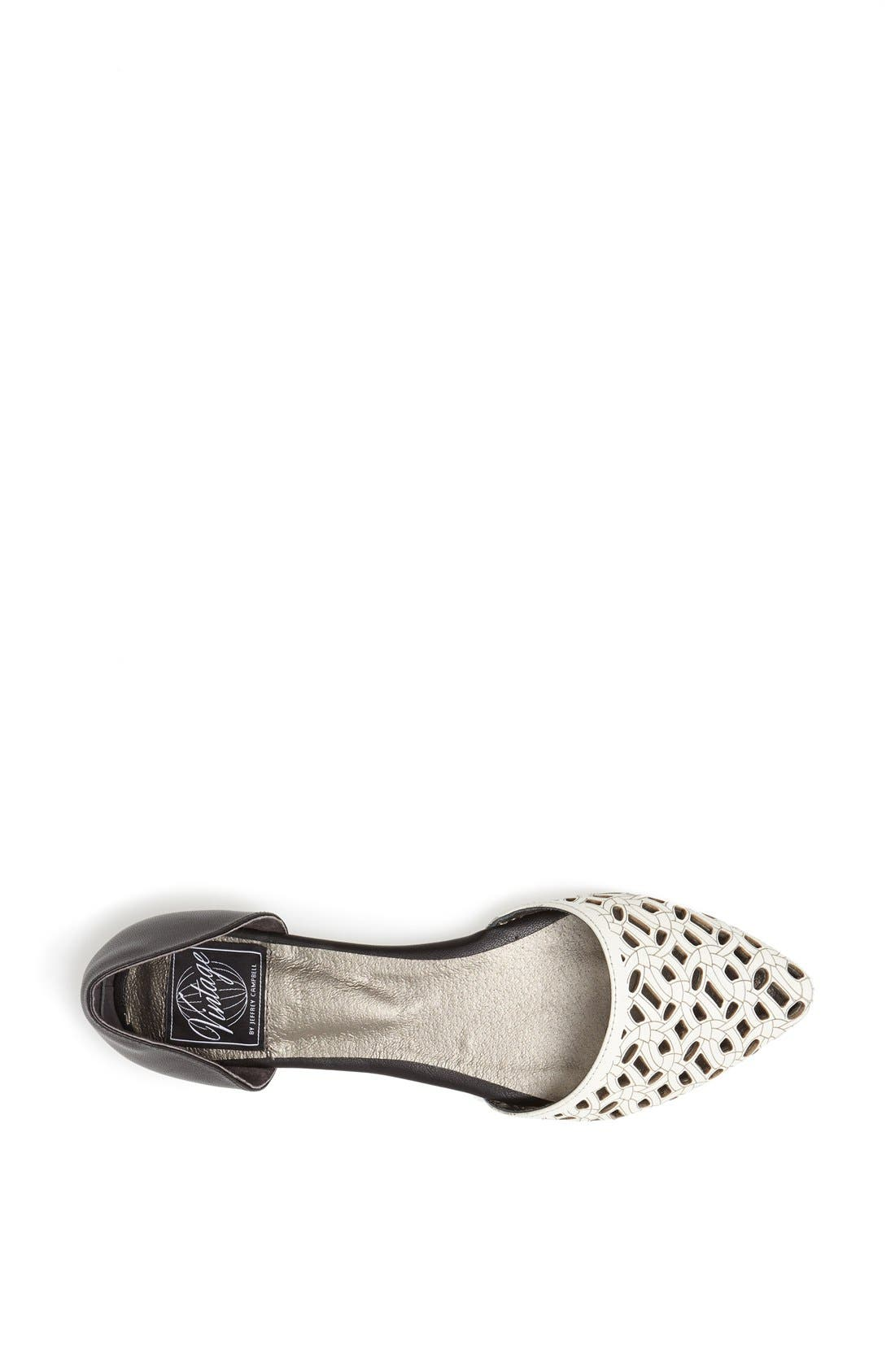 Alternate Image 3  - Jeffrey Campbell 'In Love' Laser Cut d'Orsay Flat