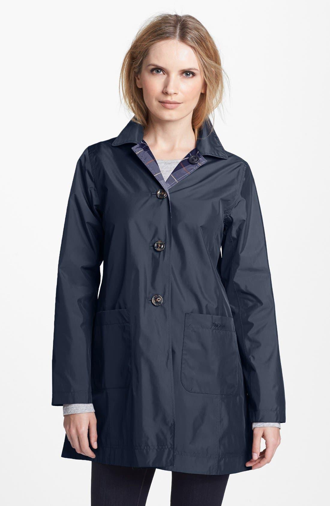 Alternate Image 1 Selected - Barbour 'Derby Mackintosh' Reversible Raincoat