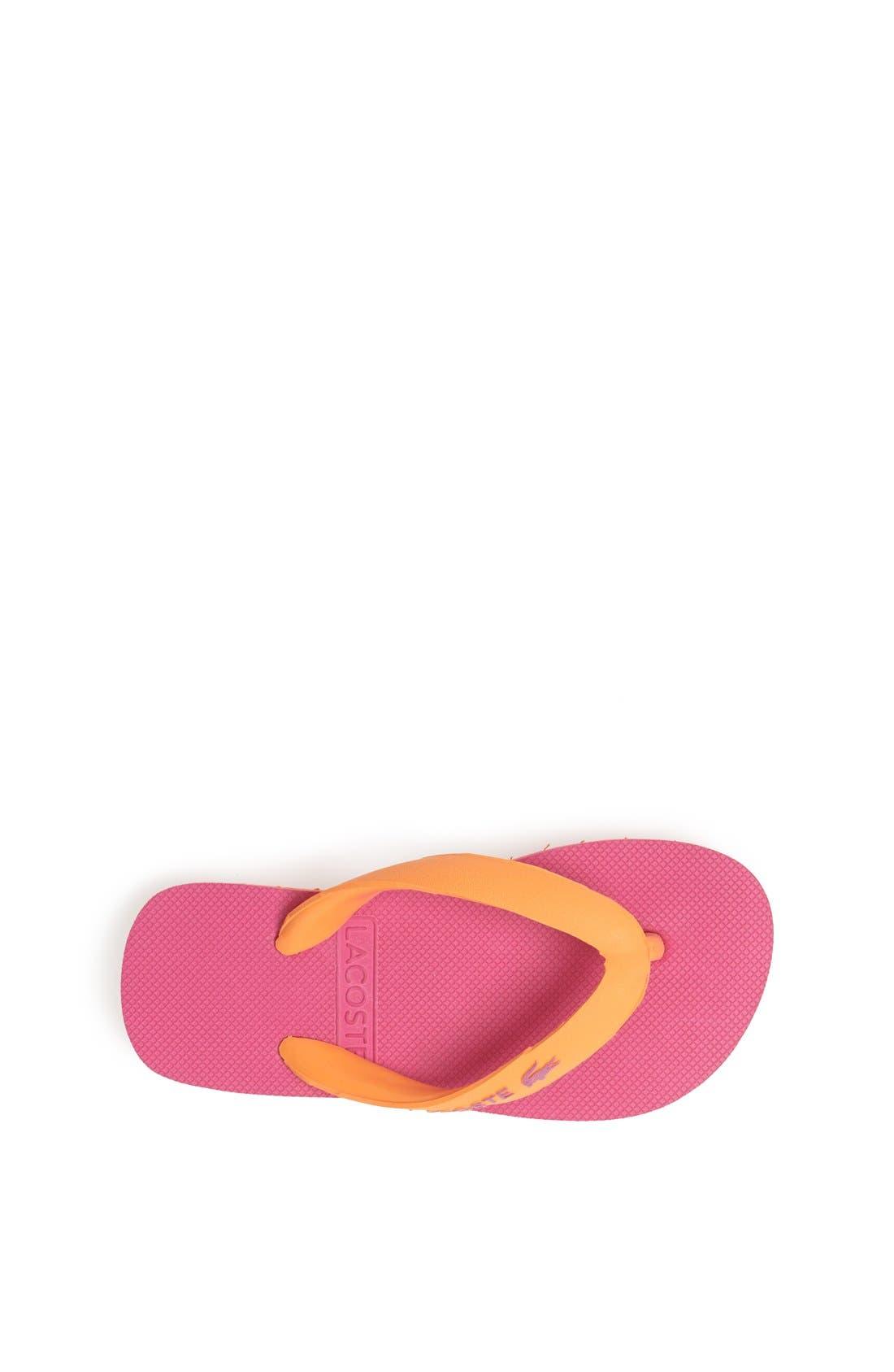 Alternate Image 3  - Lacoste 'Nosara' Flip Flop (Toddler & Little Kid)