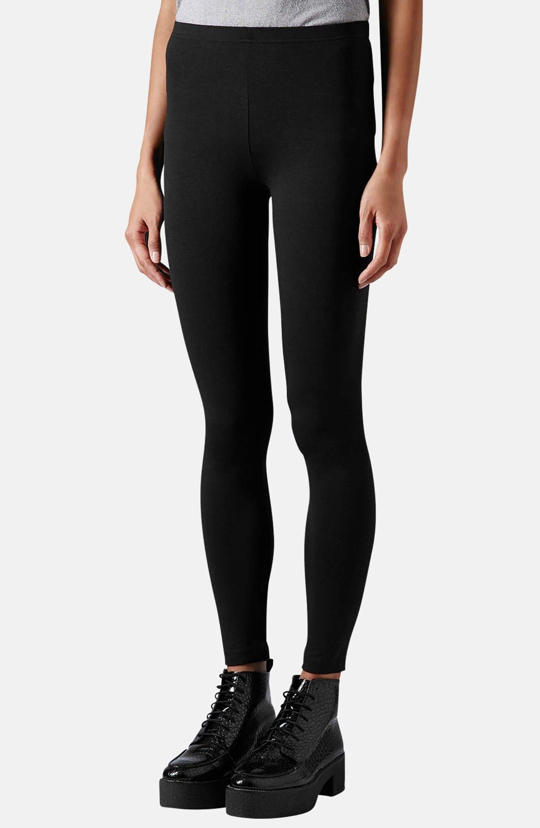 Main Image - Topshop Ankle Leggings