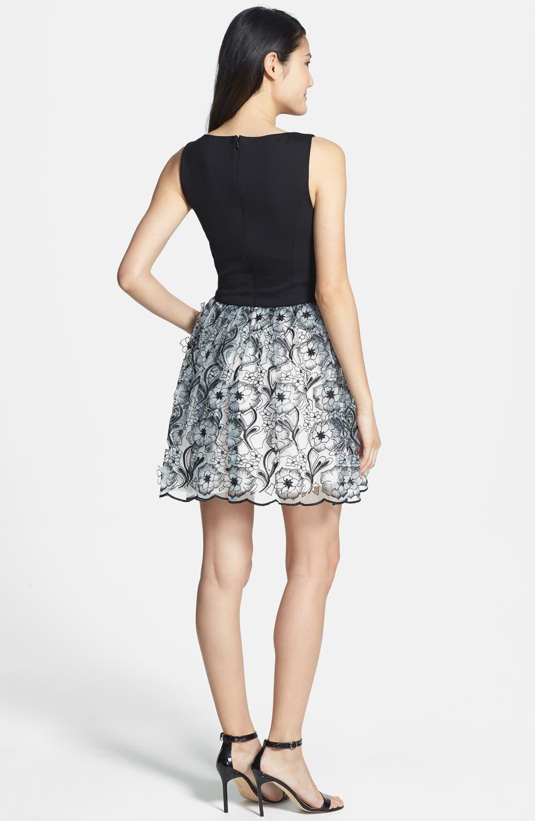 Alternate Image 3  - ERIN erin fetherston 'Peony 3D' Fit & Flare Dress
