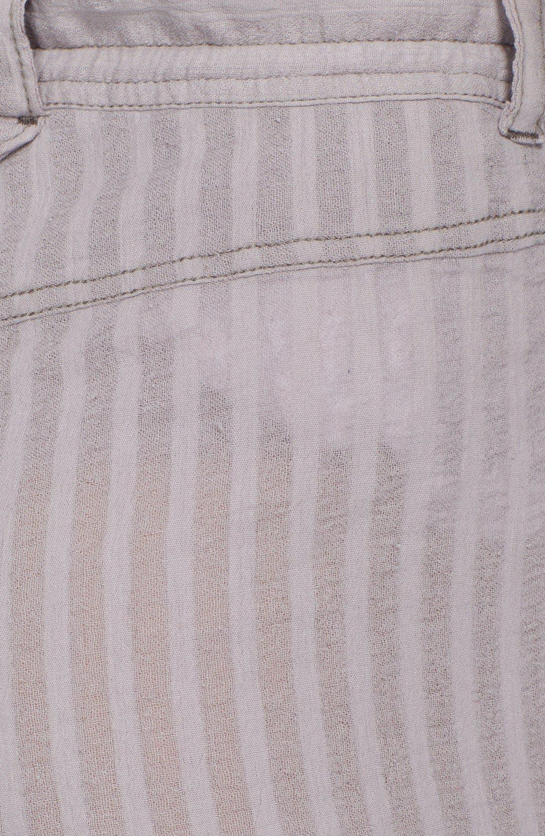 Alternate Image 3  - Free People Crochet Inset Crop Pants