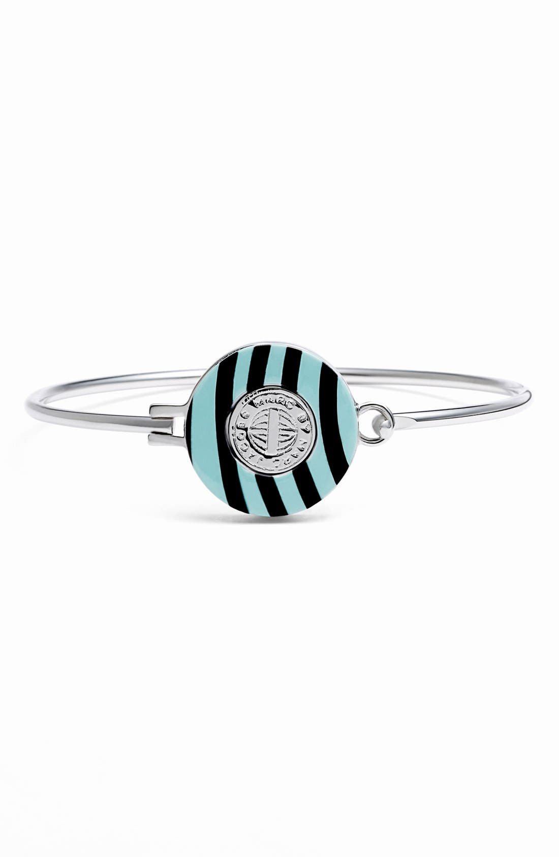 Alternate Image 1 Selected - MARC BY MARC JACOBS 'Charmed Pattern Coin' Skinny Bangle