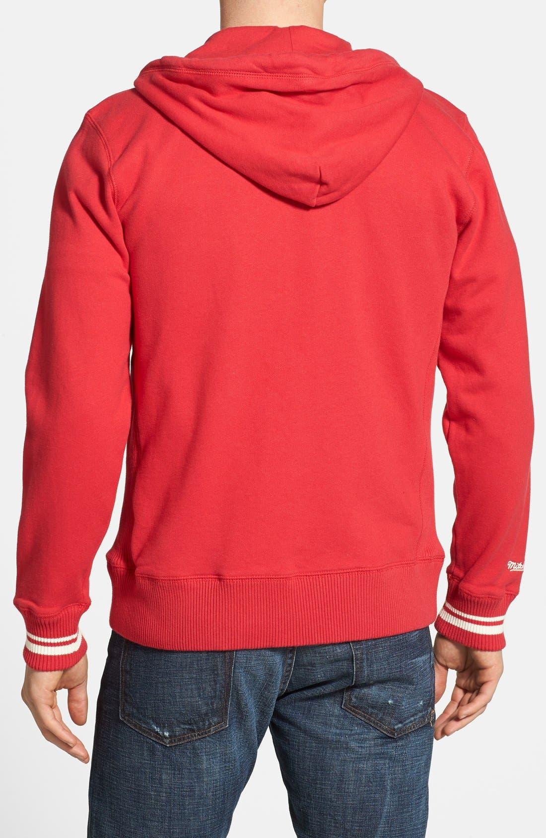 Alternate Image 2  - Mitchell & Ness 'St. Louis Cardinals' Full Zip Hoodie