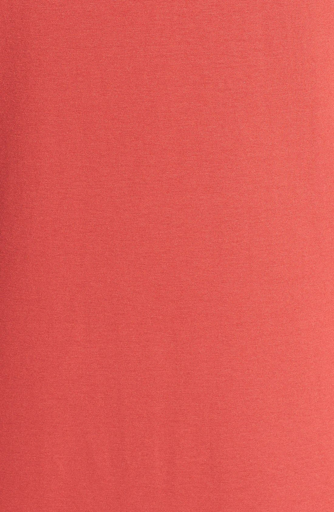 Alternate Image 3  - Eileen Fisher Cowl Neck Jersey Dress (Regular & Petite)