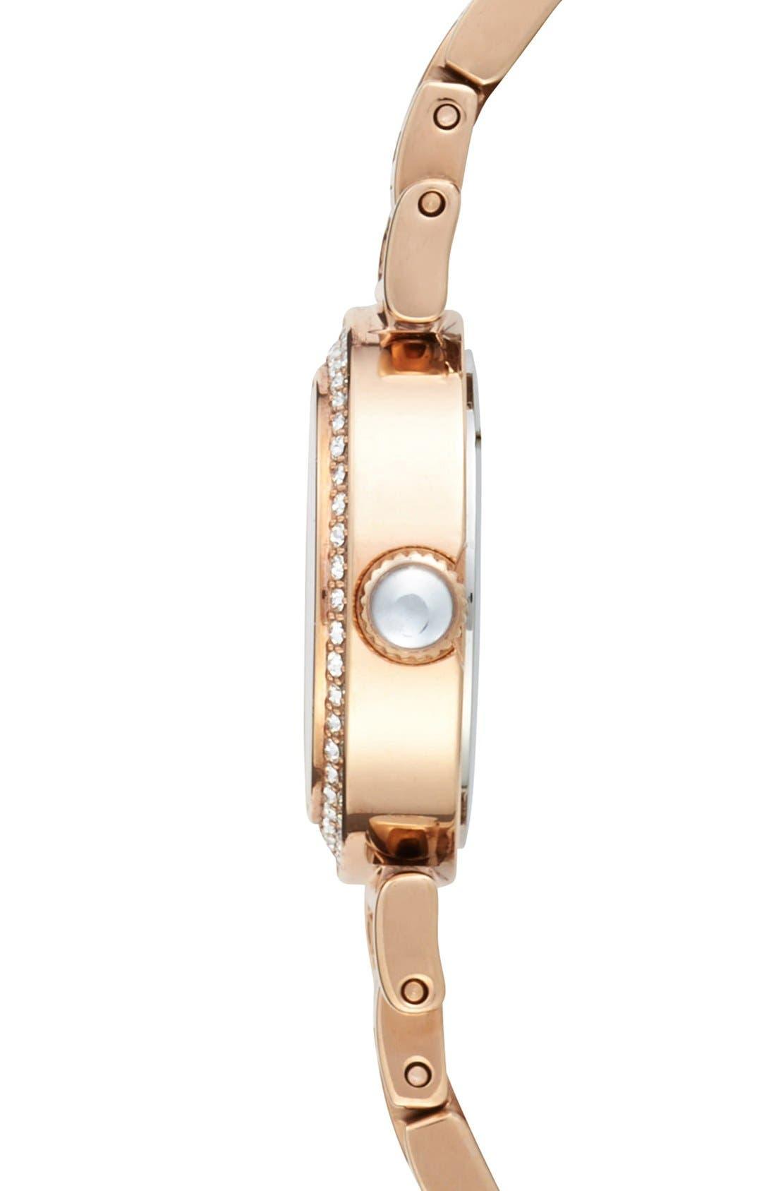 Alternate Image 3  - COACH 'Madison' Crystal Bezel Bracelet Watch, 24mm