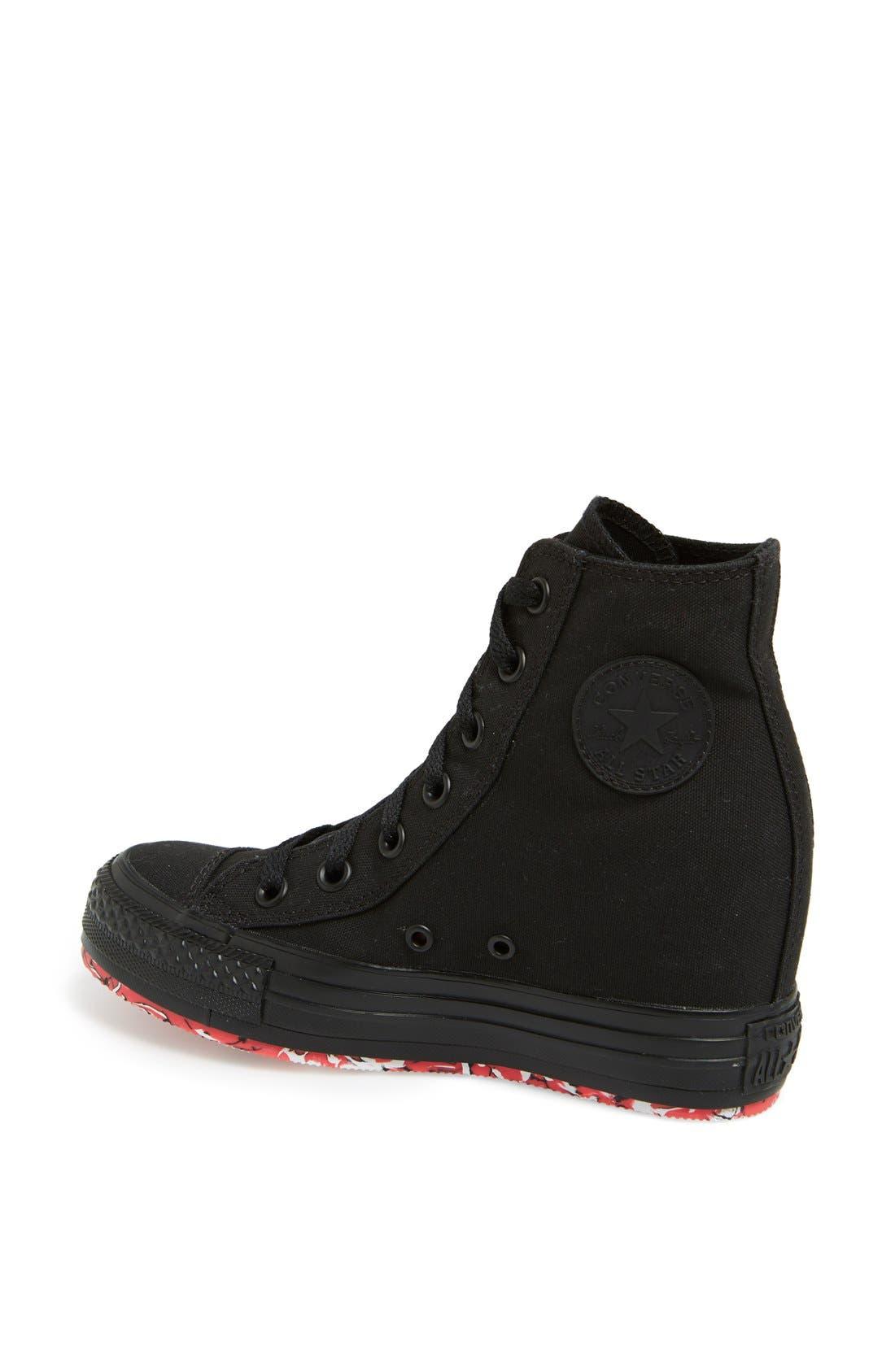 Alternate Image 2  - Converse Chuck Taylor® All Star® High Top Wedge Sneaker (Women)