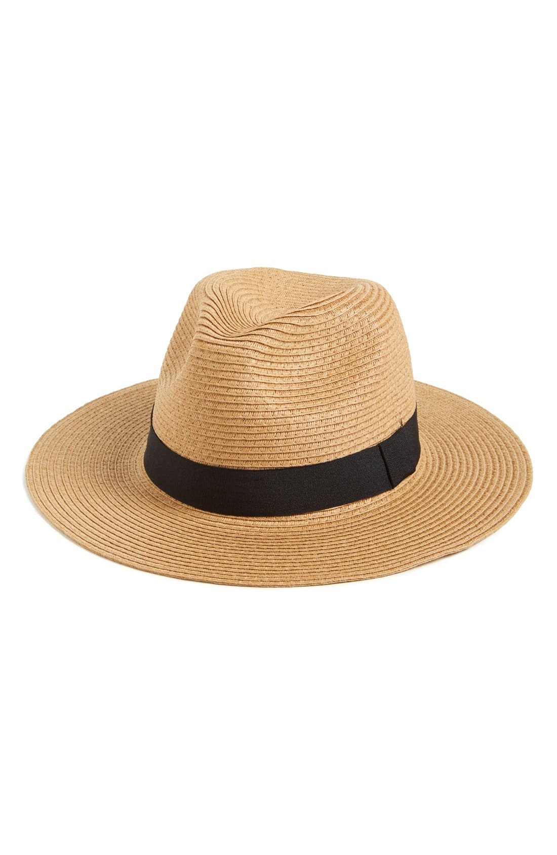 Alternate Image 1 Selected - Leith Floppy Straw Hat