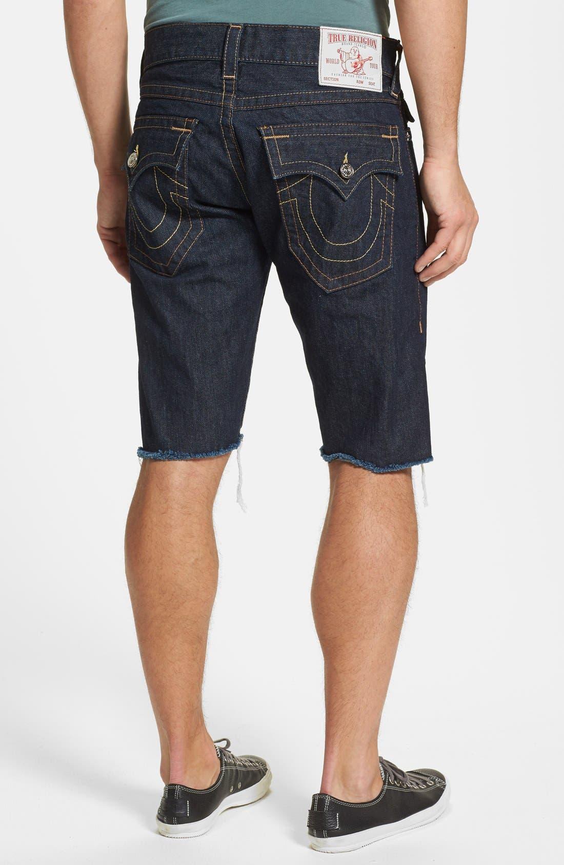 Main Image - True Religion Brand Jeans 'Ricky' Cut Off Denim Shorts