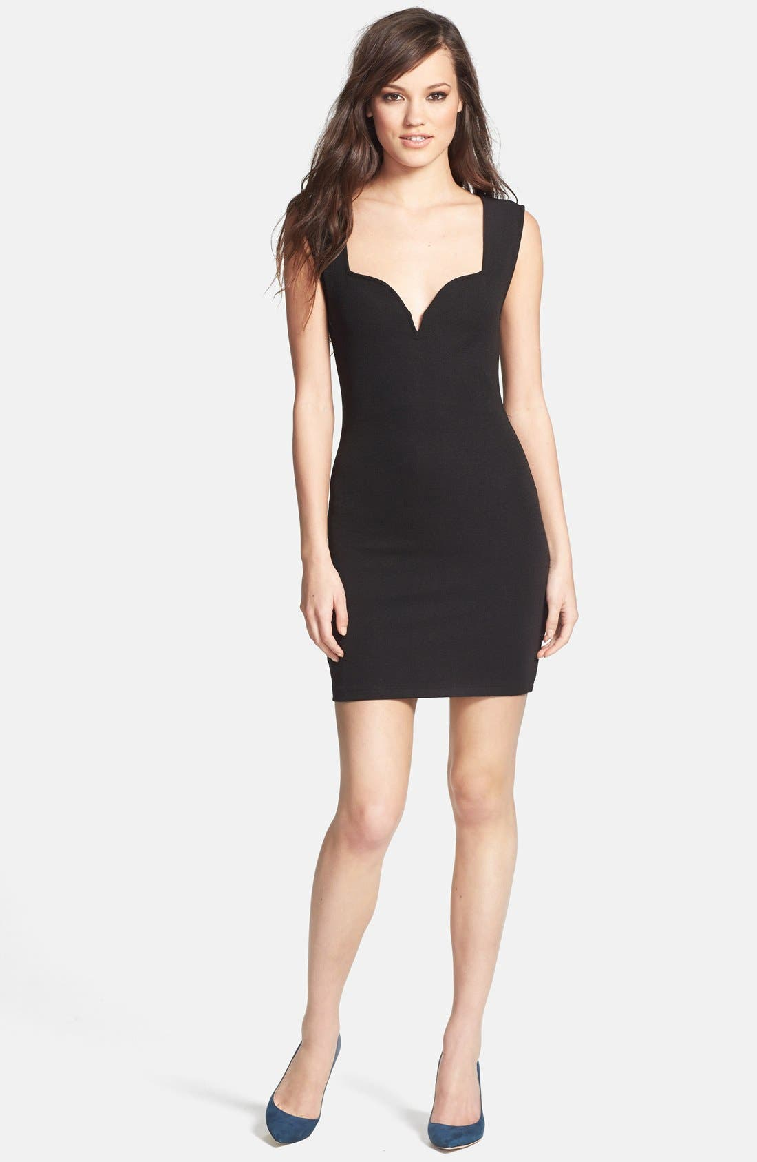 Main Image - MINKPINK Ponte Knit Body-Con Dress