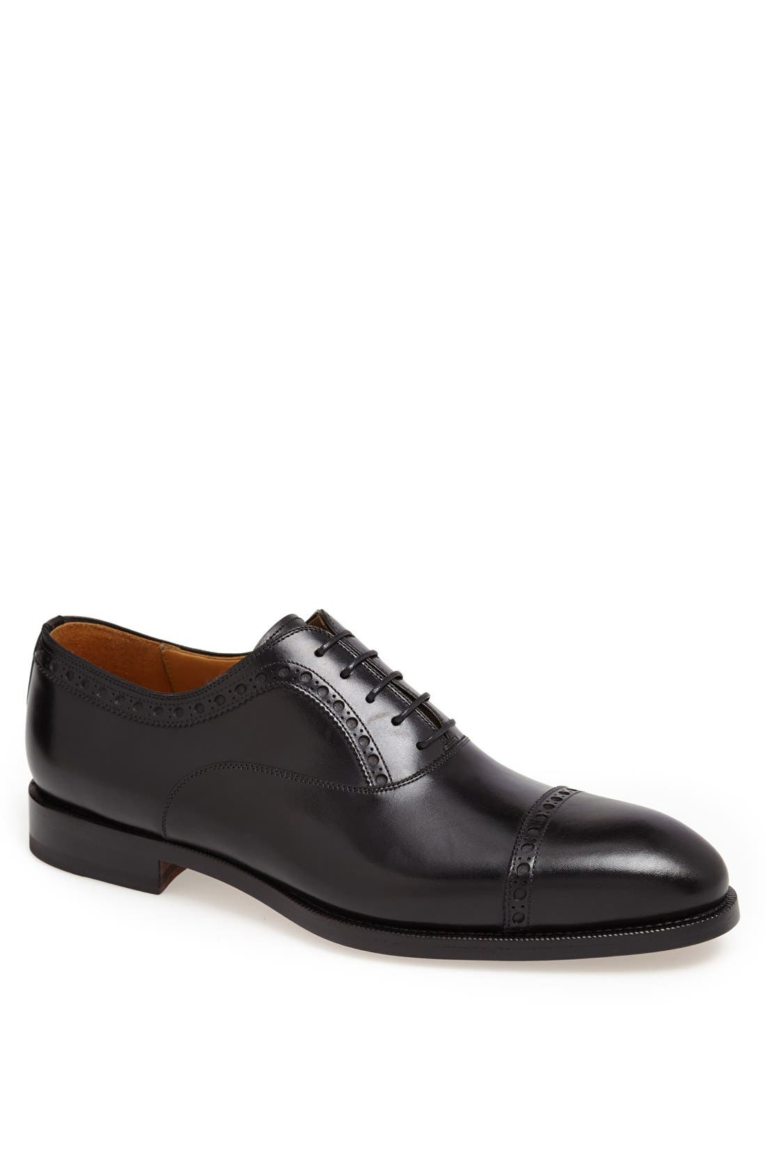 Alternate Image 1 Selected - Magnanni 'Luca' Cap Toe Oxford (Men) (Online Only)