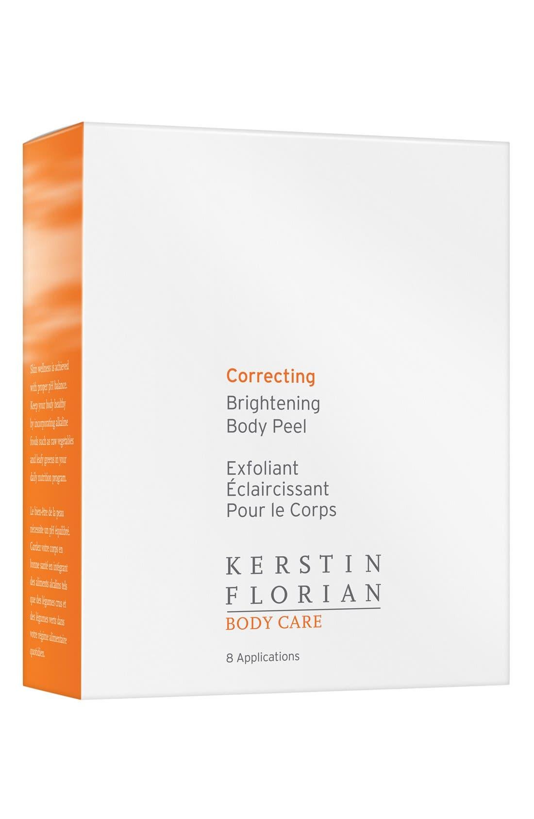 Kerstin Florian Correcting Brighten Body Peel Pads